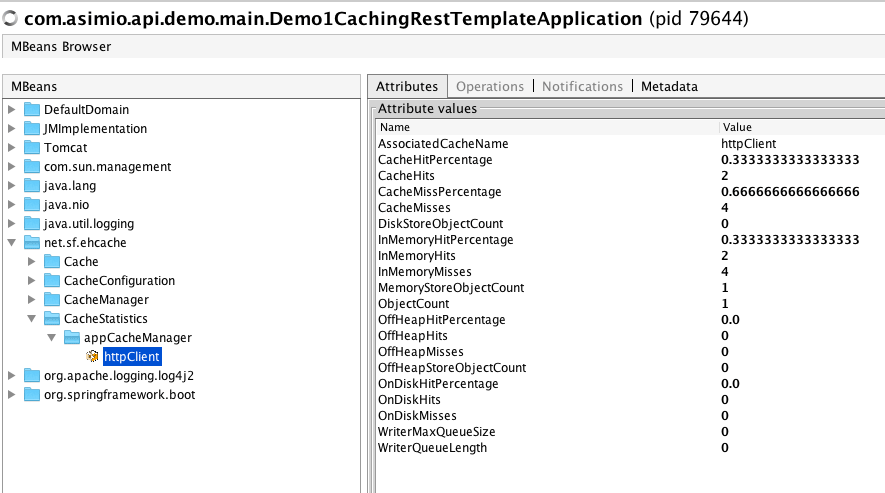 Caching using RestTemplate, Ehcache and ETags